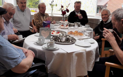 Fathers Day Coffee Morning at The Old Downs Residential Care Home