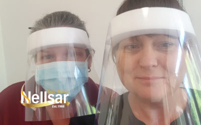 Local resident makes protective face shields for Nellsar care workers