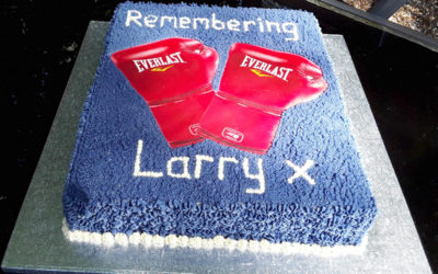 In memory of Larry at The Old Downs Residential Care Home