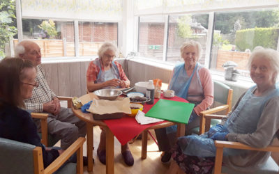 National Cherry Day at The Old Downs Residential Care Home