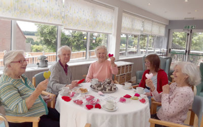 The Old Downs Residential Care Home hosts Share a Heart coffee morning