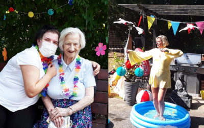 Copacabana fun at The Old Downs Residential Care Home