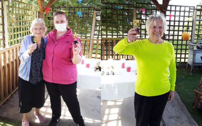 Sports Day games at The Old Downs Residential Care Home