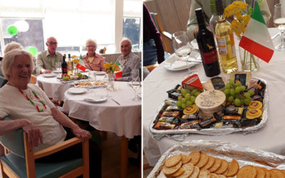 A little taste of Italy at The Old Downs Residential Care Home