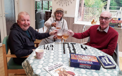 The Old Downs Residential Care Home hosts Gentlemens Club