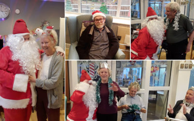 Christmas party time at The Old Downs Residential Care Home