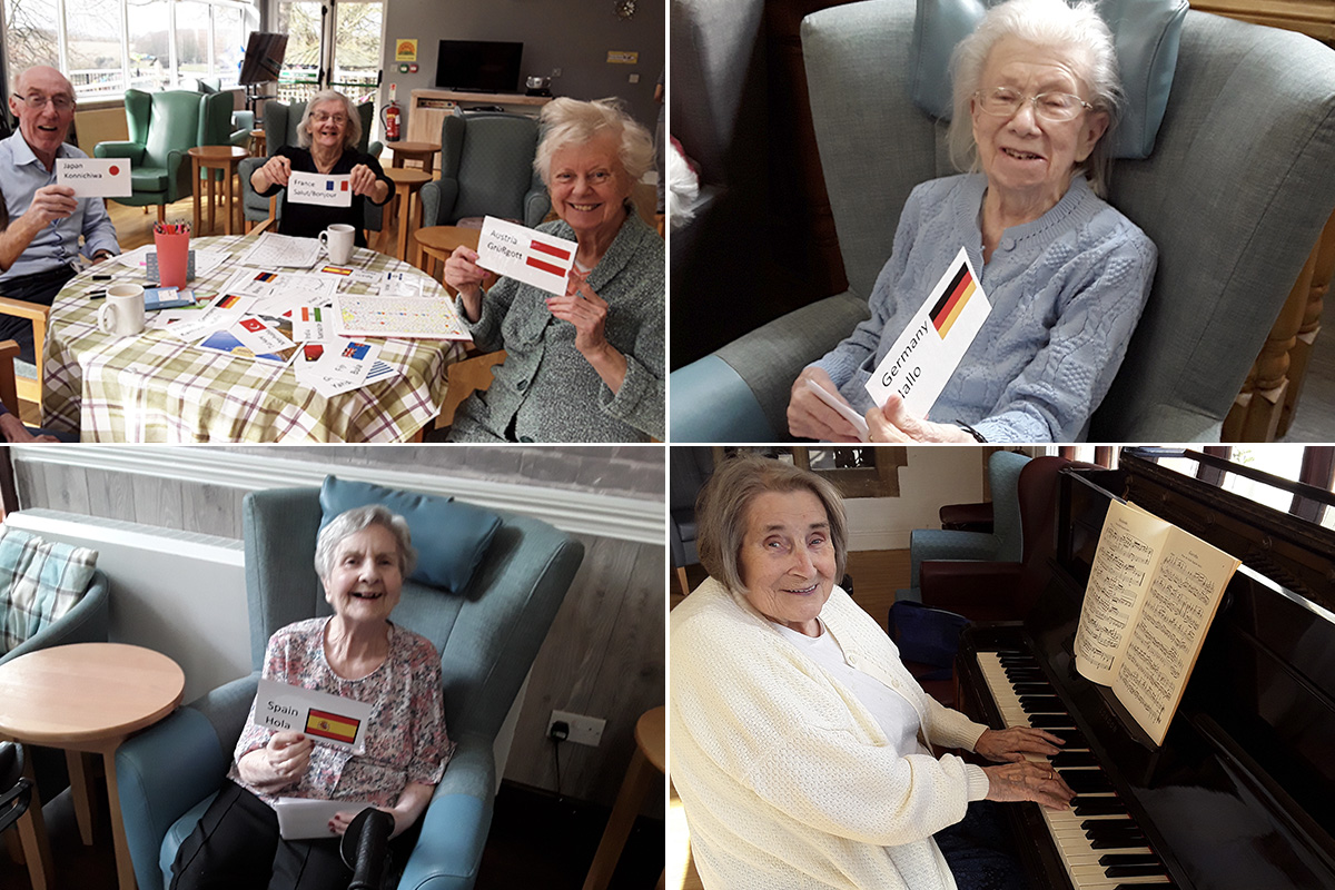 Mother language and music at The Old Downs Residential Care Home