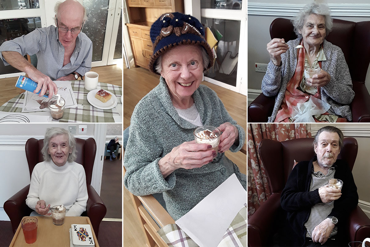 Celebrating World Nutella Day at The Old Downs Residential Care Home