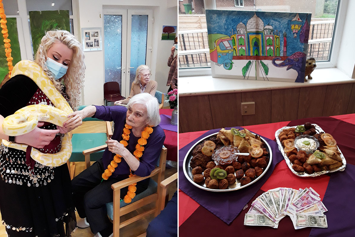 The Old Downs Residential Care Home Cruise stops in India