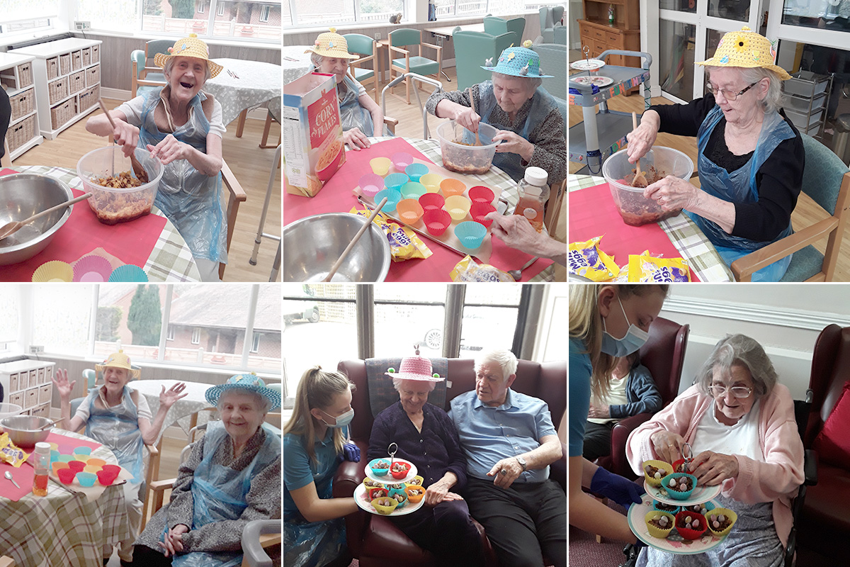 Easter Bake and Taste at The Old Downs Residential Care Home