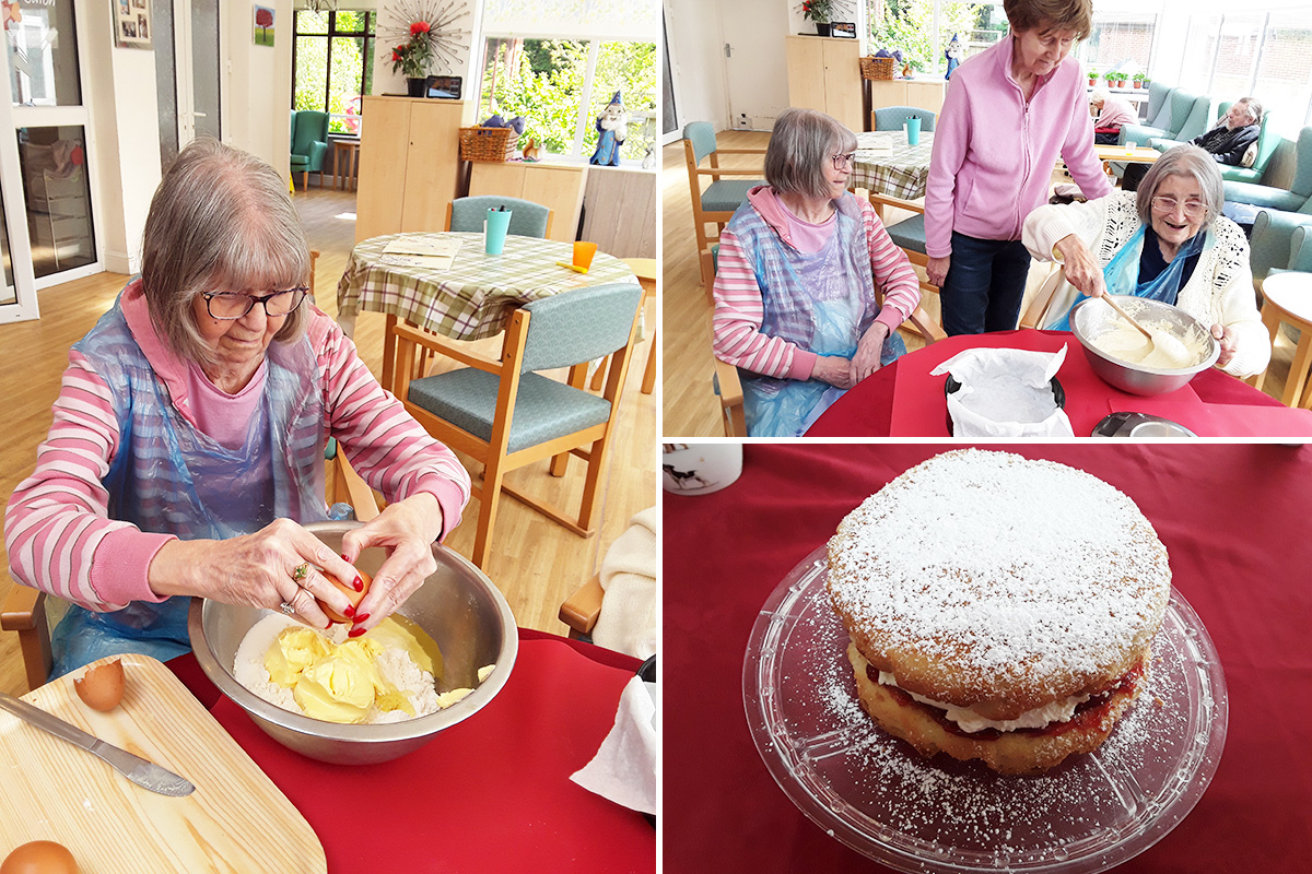 Bake and taste at The Old Downs Residential Care Home