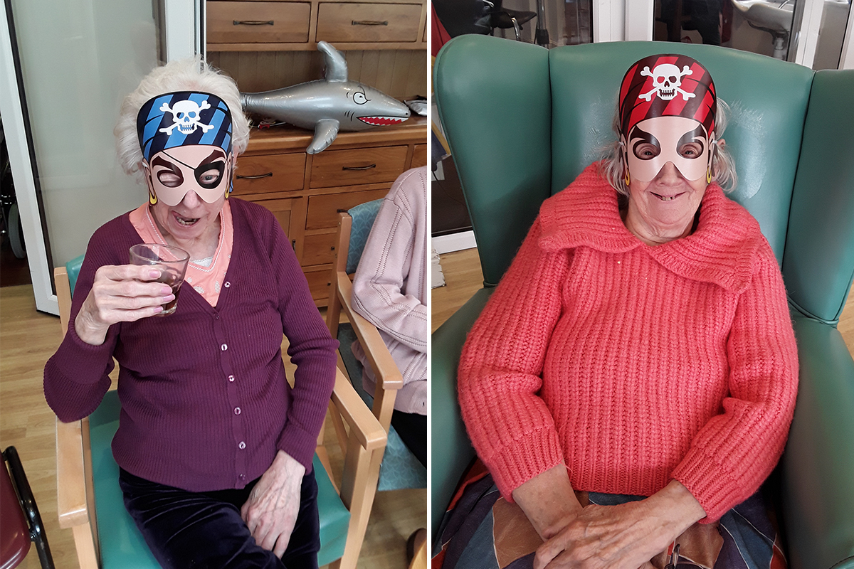 Jolly Old Pirate Day at The Old Downs Residential Care Home