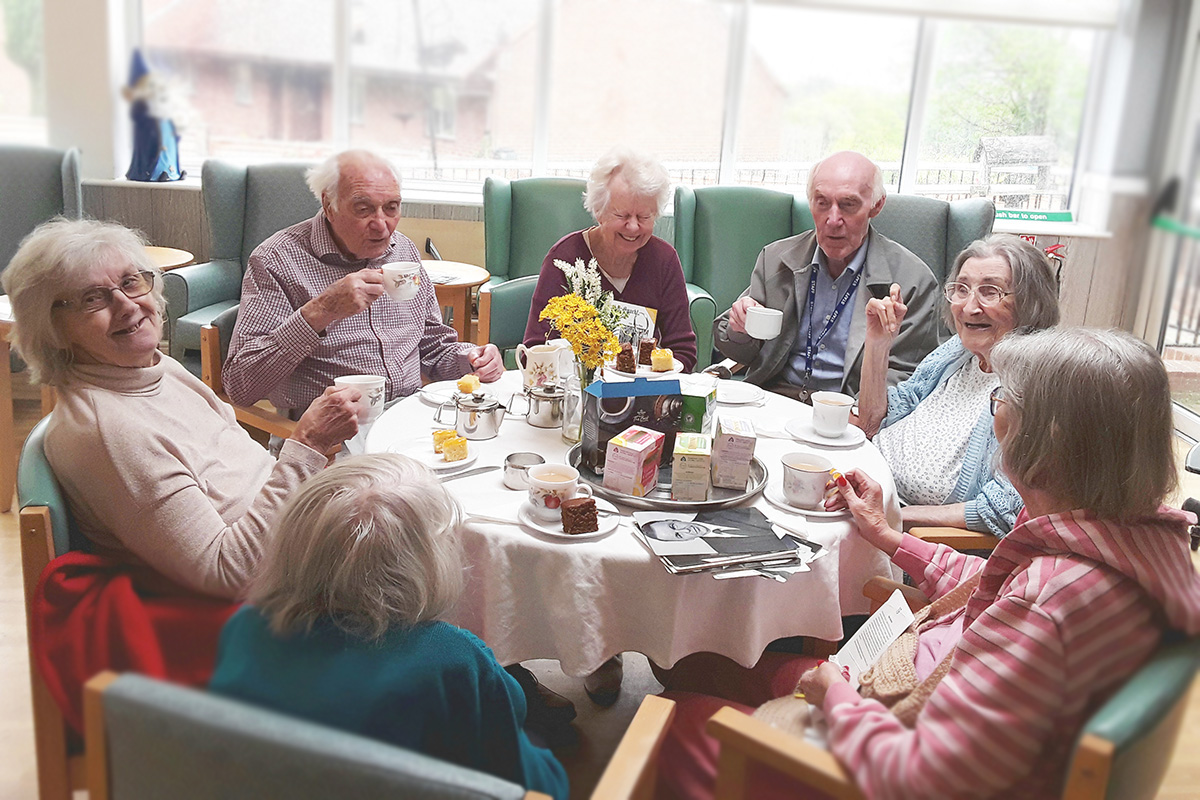 International Tea Day at The Old Downs Residential Care Home