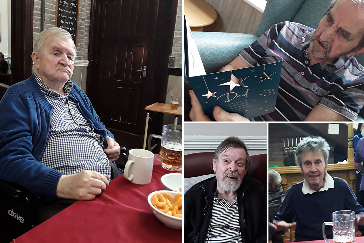 Fathers Day Tavern fun at The Old Downs Residential Care Home
