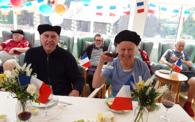The Old Downs Residential Care Home residents cruise to France