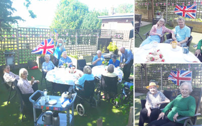 Queens birthday and circus party at The Old Downs Residential Care Home