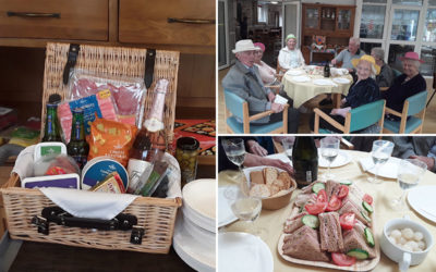 Picnic treats a plenty at The Old Downs Residential Care Home
