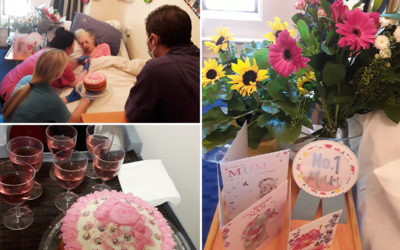 Vera turns 104 years young at The Old Downs Residential Care Home