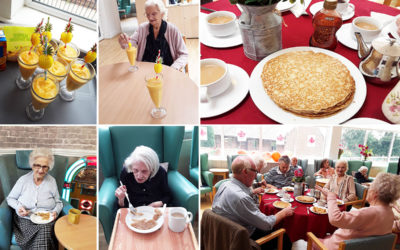 Celebrating international days at The Old Downs Residential Care Home