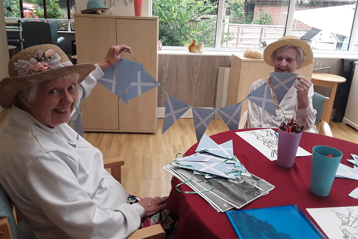 CampinginScotland at The Old Downs Residential Care Home